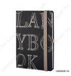 L-Y-O Reflex fekete/drapp A/5 jegyzetfüzet, vonalas
