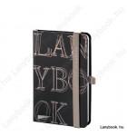 L-Y-O Reflex fekete/drapp A/6 jegyzetfüzet, sima