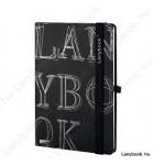 L-Y-O Reflex fekete/fekete A/5 jegyzetfüzet, vonalas