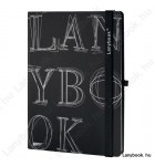 L-Y-O Reflex fekete/fekete B/5 jegyzetfüzet, vonalas