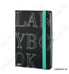 L-Y-O Reflex fekete/zöld A/5 jegyzetfüzet, vonalas