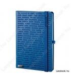 The One III  kék/kék A/5 jegyzetfüzet, vonalas