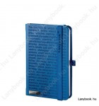The One III  kék/kék A/6 jegyzetfüzet, vonalas