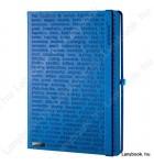 The One III  kék/kék B/5 jegyzetfüzet, vonalas