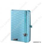 Glamorous Beauty világoskék/azúrkék A/6 jegyzetfüzet, négyzethálós