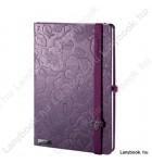 Innocent Passion indaco lila/borvörös A/5 jegyzetfüzet, sima