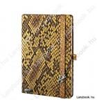 Snake Charmer  aranyokker/sárga A/5 jegyzetfüzet, sima