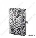 Snake Charmer  ezüstszürke/szürke A/6 jegyzetfüzet, vonalas