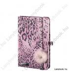Wild Cat rózsaszín/rózsa A/6 jegyzetfüzet, sima