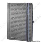 The One DS  fekete/kék B/5 jegyzetfüzet, vonalas