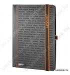 The One DS  fekete/narancs B/5 jegyzetfüzet, vonalas